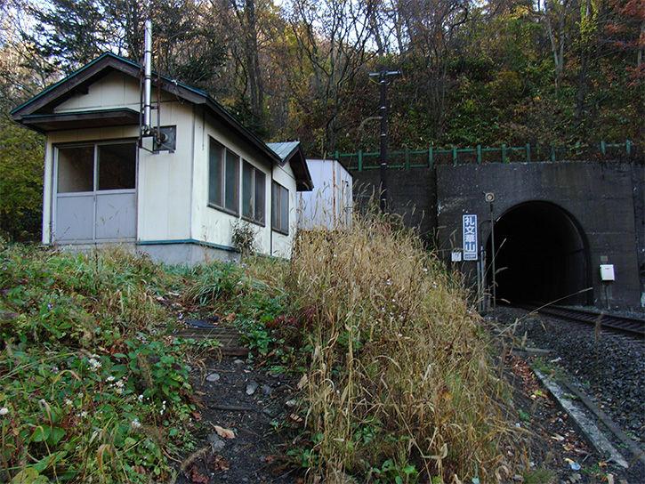 小幌駅 建物