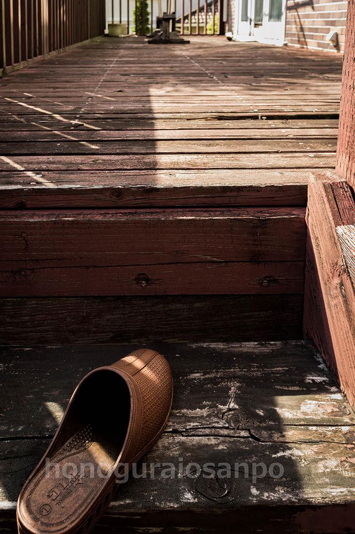 土気の物件 テラス階段