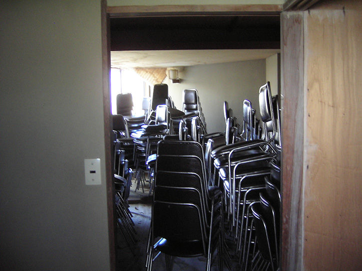 第一滝本館 椅子重ね