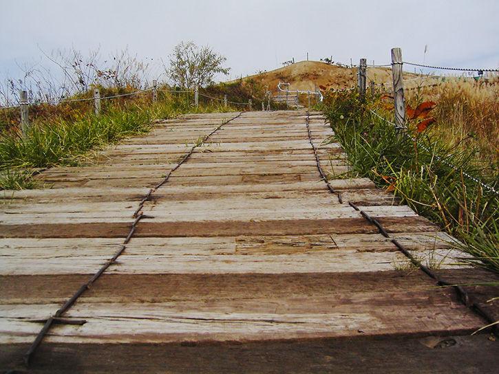 洞爺湖遺構 遊歩道