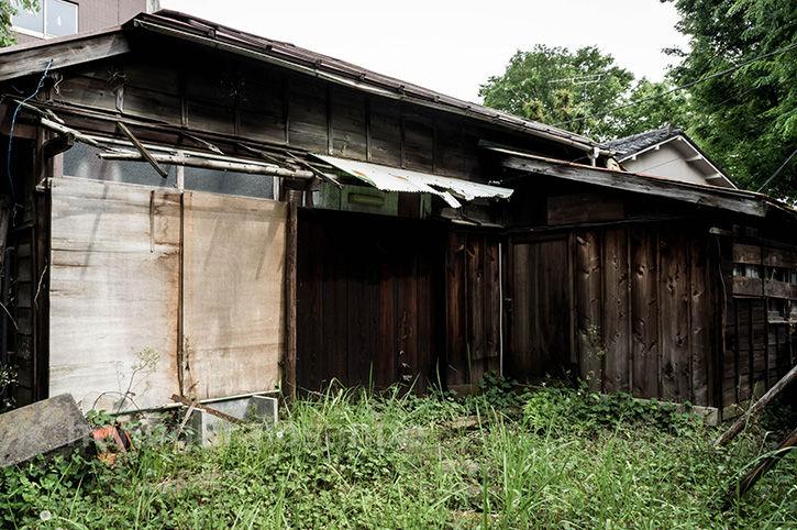 廃屋2軒 木造