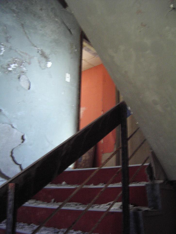 第一滝本館 階段下