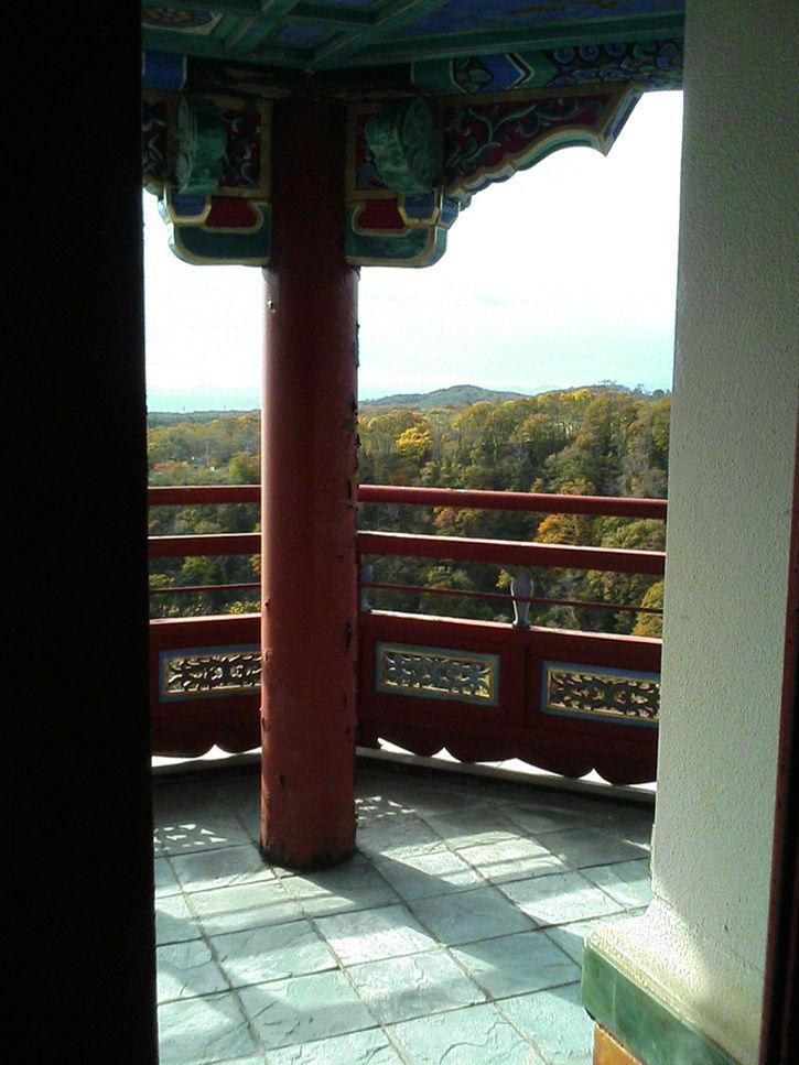 天華園 4階の眺め