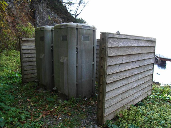 秘境駅 トイレ