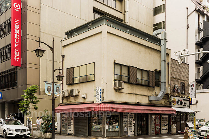 松本地上げ タバコ屋とUFJ