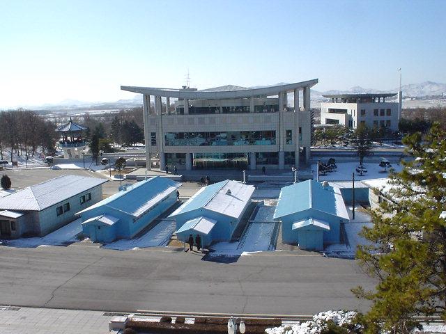 北朝鮮 展望台