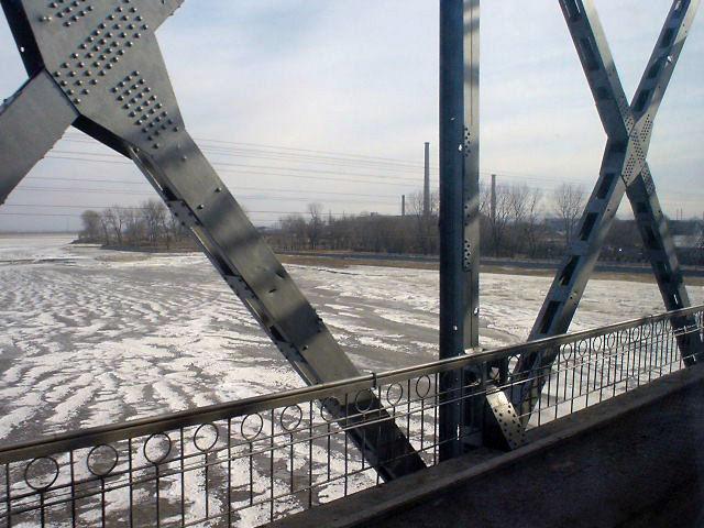 北朝鮮観光 鉄橋