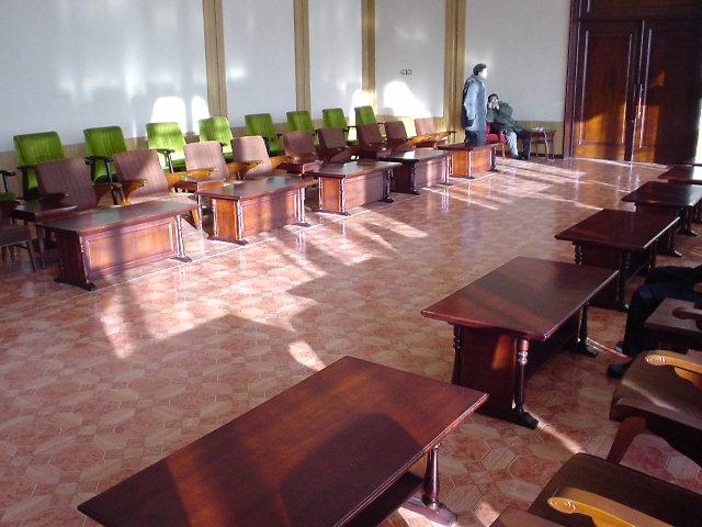 北朝鮮観光 待合室