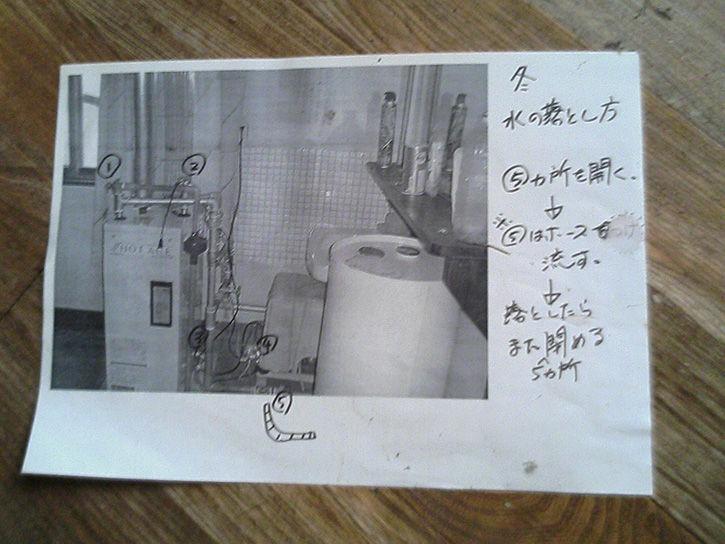 チニカ山荘 マニュアル4