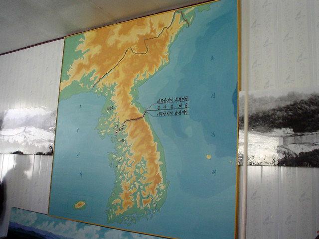 平壌観光 地図
