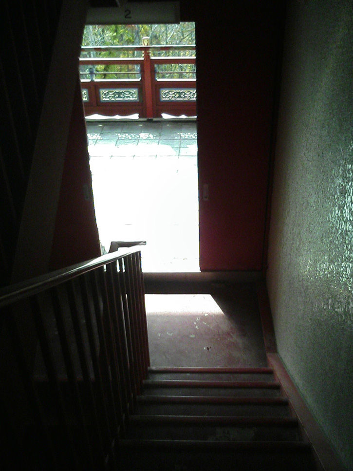 天華園 階段