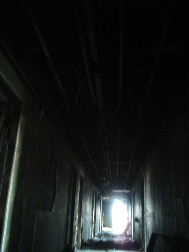ホテルニュージャパン 廊下