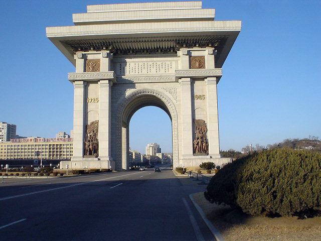 北朝鮮観光 凱旋門2