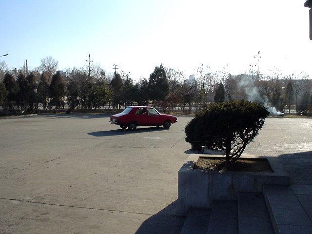 北朝鮮観光 車