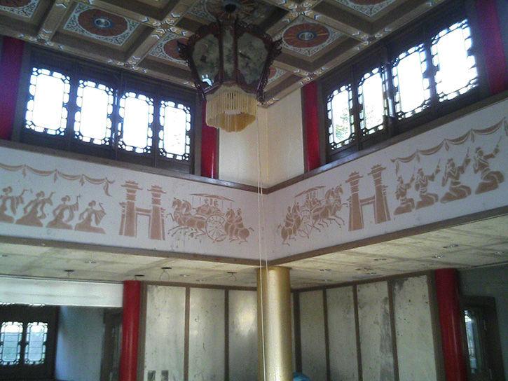 天華園 天井
