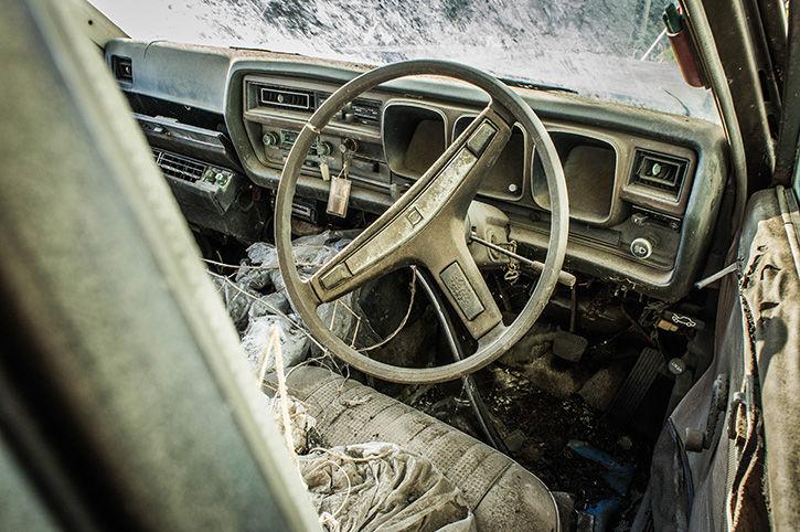 グロリア 運転席
