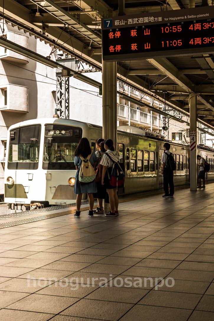 武蔵大和駅-1
