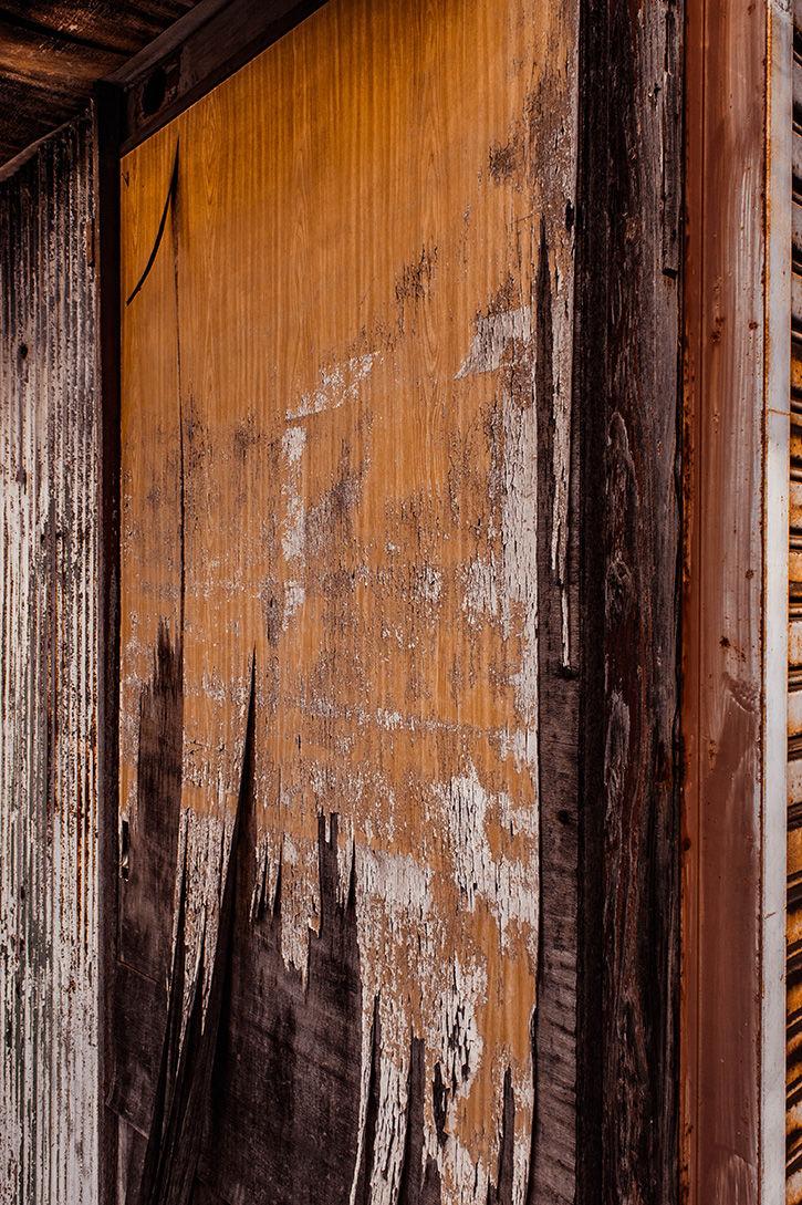 かしわや 木の壁