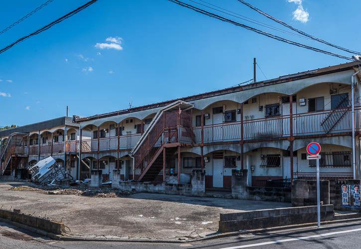廃墟アパート-6
