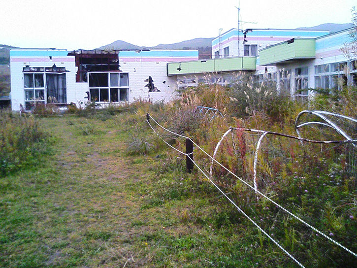 洞爺湖幼稚園 庭と畑