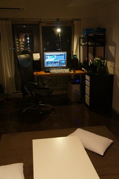 スタジオ完成