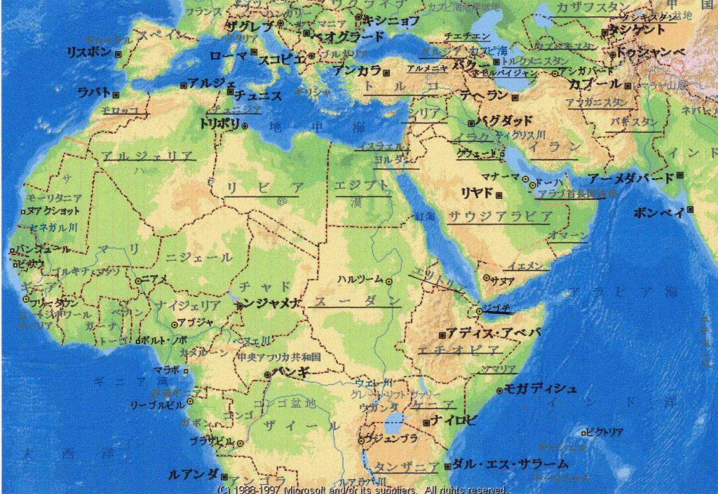 やぶにらみトーク:2005年09月23... : 世界地図 アジア フリー : 世界地図