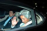 政界引退を認める小泉元首相