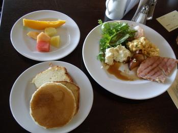 シェラトン朝食