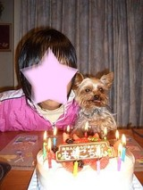 一緒に誕生日♪