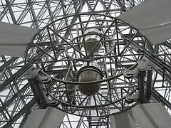 世界最大の砂時計