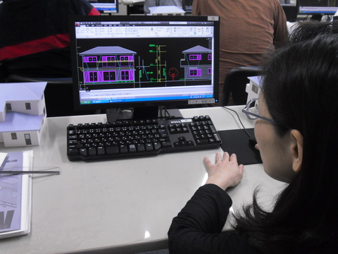 建築CAD実習