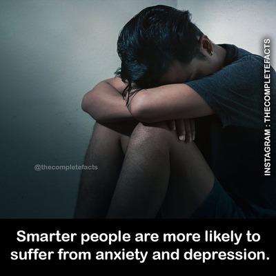 【画像】頭が良い人は普通の人より心配症だったり鬱の傾向がある ←これマジ?