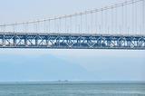 下津井瀬戸大橋を行く「南風」