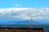白波立つ琵琶湖を行く「日本海」