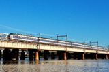 淀川を渡る「きたぐに」