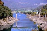 吉野川と「アンパンマン列車」