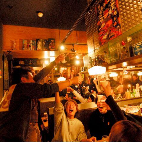 ワイ居酒屋バイト、大学サークル歓迎会グループを一網打尽にする