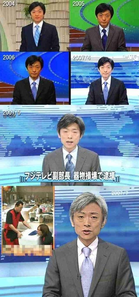 NHKからの大切なお知らせです 登坂淳一 アナウンサー 老ける