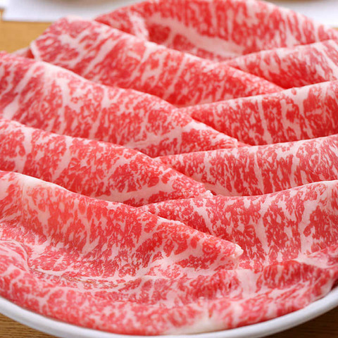 霜降り肉 スライス