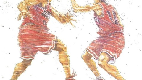 新装版井上雄彦描き下ろし「桜木花道が誰これ状態」