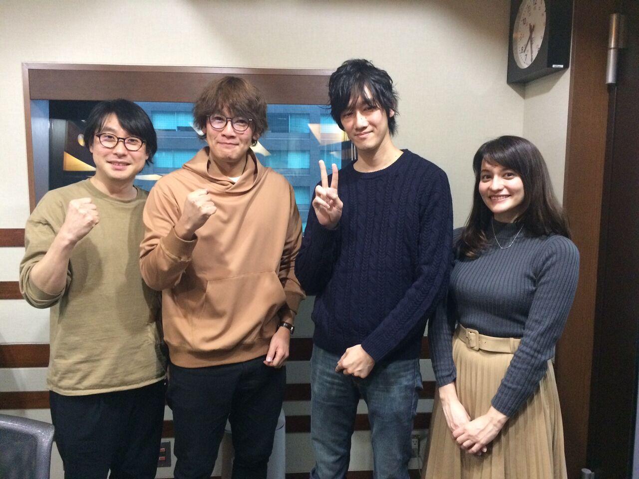 TOKYO FMのONE MORNINGさんに出演させていただきました