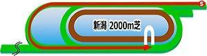 新潟芝2000m