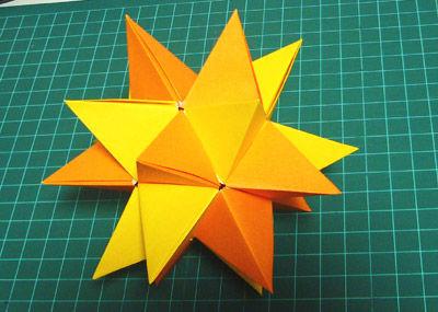 簡単 折り紙 折り紙 三角錐 : blog.livedoor.jp