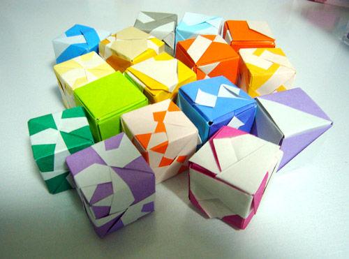 ハート 折り紙 折り紙 立方体 折り方 : blog.livedoor.jp