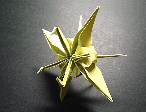 すべての折り紙 折り紙難しい龍 : 折り紙】連鶴 - 龍朧車(りん ...