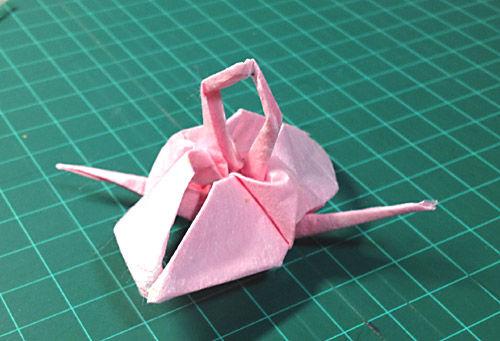 すべての折り紙 長方形 折り紙 鶴 : これは『相生(あいおい ...