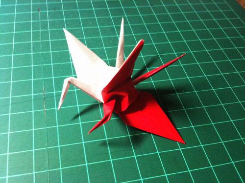 クリスマス 折り紙 折り紙 連鶴 : blog.livedoor.jp