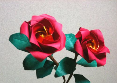 花 折り紙 : 立体 花 折り紙 : blog.livedoor.jp