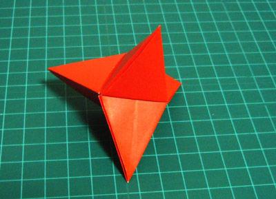 簡単 折り紙:折り紙 三角錐-blog.livedoor.jp