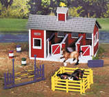 Stablemates Red Stable Set(厩舎セット)